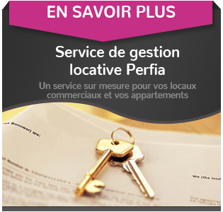 Location de local professionnel – Perfia
