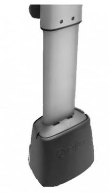 Extension pour jambe de force de siège auto (muni du système isofix)